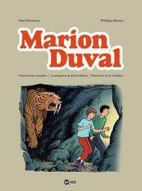 Couverture «L'homme aux mouettes – La vengeance du prince Melcar – Pleins feux sur le smilodon»