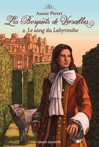 Couverture «Le sang du labytinthe»