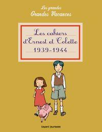 Couverture «Les cahiers d'Ernest et Colette 1939-1944»