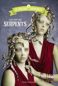Couverture «Les sœurs serpents»