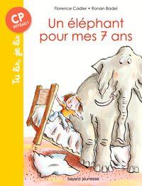 Couverture «Un éléphant pour mes sept ans»