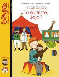 Cover of «Tu es triste, Jojo ?»