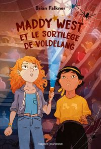 Couverture « Maddy West et le sortilège de Voldelang »
