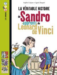 Cover of «La véritable histoire de Sandro, apprenti de Léonard de Vinci»