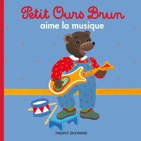 Couverture «Petit Ours Brun aime la musique»