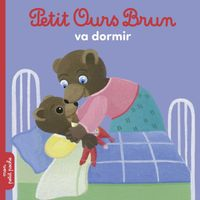 Couverture «Petit Ours Brun va dormir»