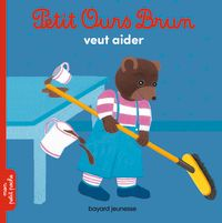 Couverture «Petit Ours Brun veut aider»