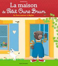 Couverture «La maison de Petit Ours Brun – un livre-maison à déplier»
