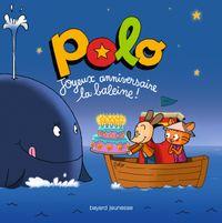 Couverture «Joyeux anniversaire la baleine !»