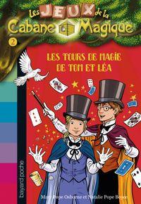 Couverture «Les tours de magie de Tom et Léa»