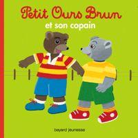 Couverture «Petit Ours Brun et son copain»
