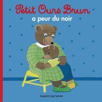 Couverture «Petit Ours Brun a peur du noir»