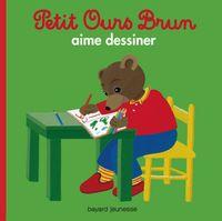 Couverture «Petit Ours Brun aime dessiner»