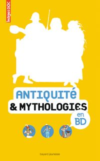 Couverture « Antiquité & mythologies en BD »