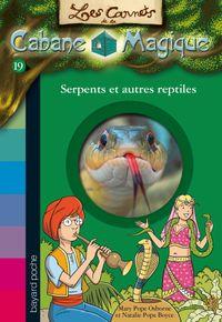 Couverture «Serpents et autres reptiles»