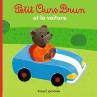 Cover of «Petit Ours Brun et la voiture»