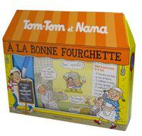 Couverture «À la Bonne Fourchette – coffret Tom-Tom et Nana»