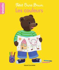 Couverture «Petit Ours Brun devinettes – Les couleurs»