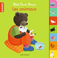 Couverture «Petit Ours Brun devinettes – Les animaux»