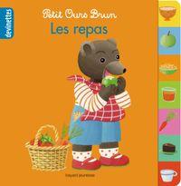 Couverture «Petit Ours Brun devinettes – Les repas»