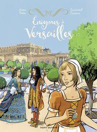 Couverture «Énigmes de Versailles»