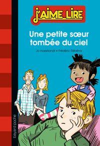 Cover of «UNE PETITE SOEUR TOMBÉE DU CIEL»