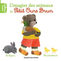 Couverture «L'imagier des animaux de Petit Ours Brun»