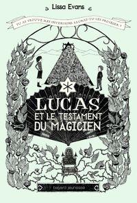 Couverture «Lucas et le testament du magicien»