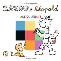 Couverture «Zazou et Léopold – Les couleurs»