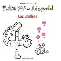 Cover of «Zazou et Léopold – Les chiffres»