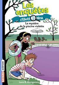 Couverture «Le mystère de la piscine violette»