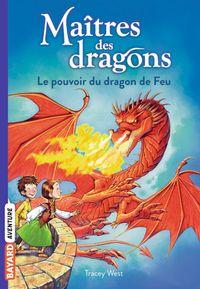 Couverture «Le pouvoir du dragon de feu»