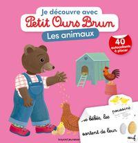Couverture «Je découvre les animaux avec Petit Ours Brun»