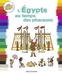 Couverture «L'Égypte au temps des pharaons»