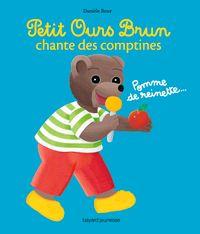Couverture «Petit Ours Brun chante des comptines – livre sonore»
