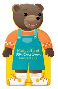 Couverture «Mon coffret Petit Ours Brun – 6 livres et 1 jeu»