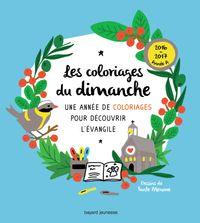 Cover of «Les coloriages du dimanche (année A)»
