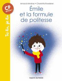 Couverture «Émile et la formule de politesse»