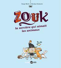 Cover of «La sorcière qui aimait les animaux»