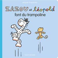 Couverture «Zazou et Léopold font du trampoline»