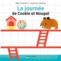 Couverture «La journée de Cookie et Nougat»