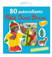 Cover of «La montagne – 80 autocollants Petit Ours Brun»