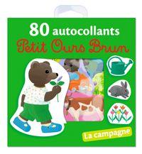 Couverture «La campagne – 80 autocollants Petit Ours Brun»