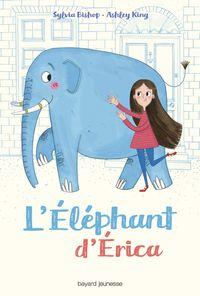 Couverture «L'éléphant d'Erica»