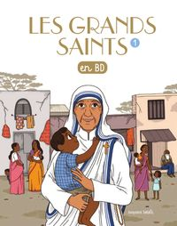 Couverture « Les grands saints en BD »