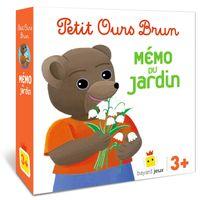 Couverture «Jeu Petit Ours Brun – Mémo du jardin»