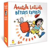 Cover of « Anatole Latuile – Bêtises express Abysse »