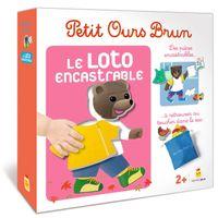 Couverture «Jeu Petit Ours Brun – Loto encastrable»