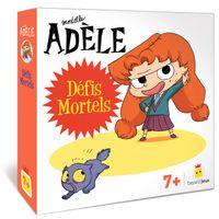 Couverture «Jeu Mortelle Adèle – Défis mortels»