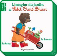 Couverture «L'imagier du jardin de Petit Ours Brun»